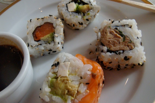 Plate #5: sushi!